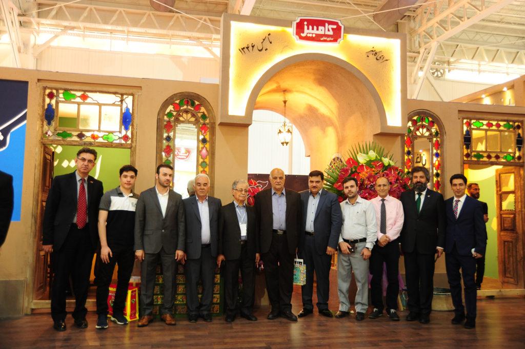 حضور صنایع غذایی کامبیر در نمایشگاه آگروفود