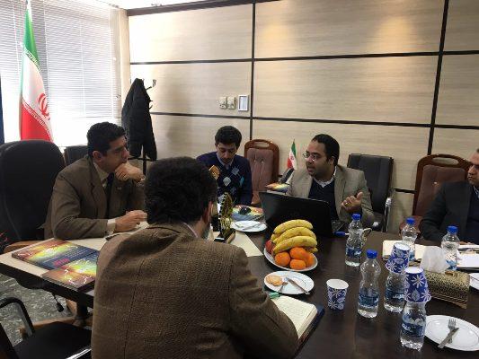 جلسه کمیته علمی هشتمین جشنواره ملی بهره وری